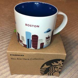 """NIB You Are Here Mug by Starbucks """"Boston"""""""